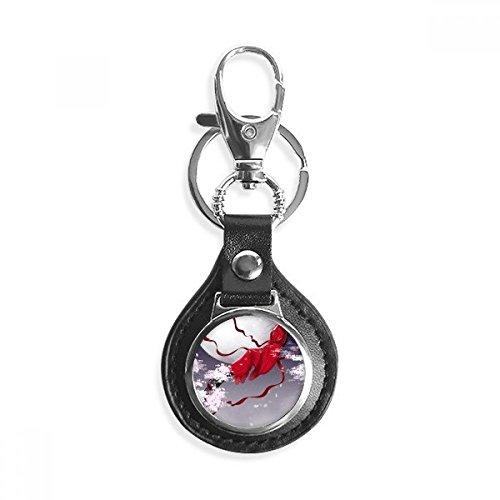 DIYthinker Männer-Auto-Schlüsselkette Trink-Schlüsselring 7 X 2.8cm, 2.1cm Durchmesser Bild Multicolor (Mond-mann Keychain)