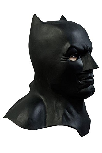 Batman Halloween Maske Batman v Superman Dawn of Justice Batman Schwarz Maske One Size (Batman Halloween Maske)