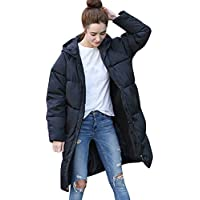 Hanomes Damen-Winter-Warmer Mantel-Fester mit Kapuze starker Warmer dünner Jacken-Langer Mantel Zipped Jacket... preisvergleich bei billige-tabletten.eu