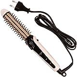 Ckeyin® 3-In-1 Plancha de cerámico Moldeador Rizador/ Maíz / Alisadora/ Peine para cabello con Cable Giratorio 360 °