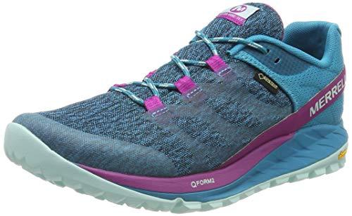 Merrell Antora GTX, Zapatillas de Running para Asfalto para Mujer, Multicolor (Capri Breeze), 40 EU