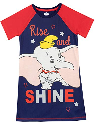 Disney Camisón para niñas Dumbo Azul 9-10 Años