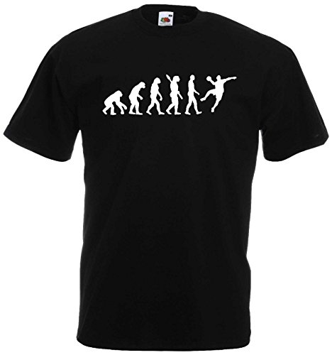 Handball Herren Evolution T-Shirt WM Sport Shirtschwarz-XXL