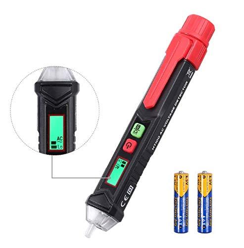 Berührungslose Spannungsprüfer 12-1000 V / 48 V-1000 Dual Einstellbare Empfindlichkeit AC Spannungsprüfer Stift Mit LCD-Display und LED-Taschenlampe