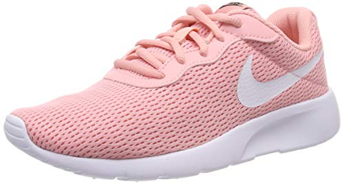 Nike Tanjun (GS) Shoe, Scarpe da Running Bambine e Ragazze, Multicolore (Bleached Coral/White/Black 605) 37.5 EU