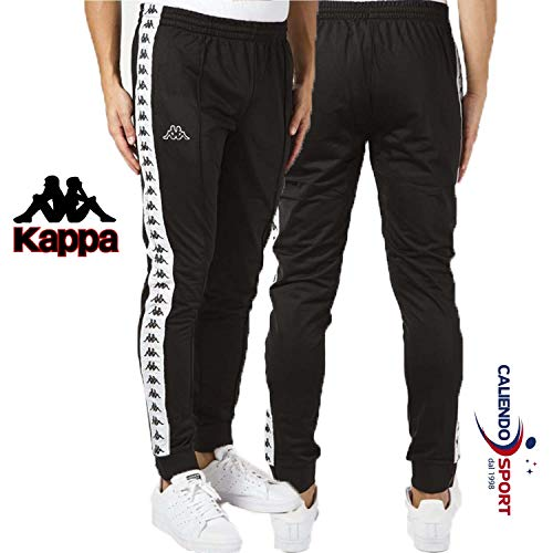 Kappa - Pantalones - 222 Banda Rastoria - Negro/Blanco