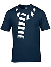 FUNKY SCARF - keep warm with this cool Men's T-Shirt from Ice-Tees