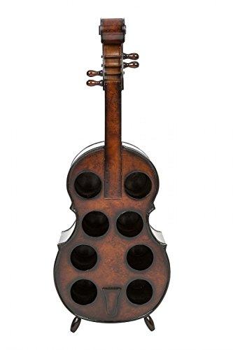 Weinregal Geige Violine Viola Weinständer Flaschenregal Flasche Regal Wein 102cm