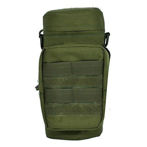 0abaa9dd8313 SDYDAY Bolsa táctica, Bolsa para Botella de Agua Militar, Bolsa de  Transporte Molle Kettle Bag Canteen Bag Holder Bag para Viajes al Aire  Libre, ...
