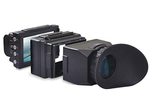 Cineroid EVF4CHE elektronischer Sucher für Kamera, schwarz - Sucher Elektronischer