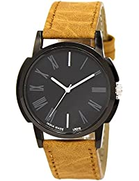 Style Keepers Amazing Stylish Sport Look Leather Strap Analog Watch For Men & Boys - B07GVMJG57