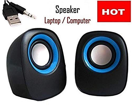 GKP Products USB Powered Laptop/Desktop PC 2.0 Mini Portable Speakers Model 138442