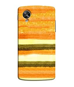 FUSON Designer Back Case Cover for LG Nexus 5 :: LG Google Nexus 5 :: Google Nexus 5 (Abstract Border Frame With Vintage Background )
