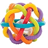 Playgro 40133 - Rassel-Ball Bendy Ball, bunt