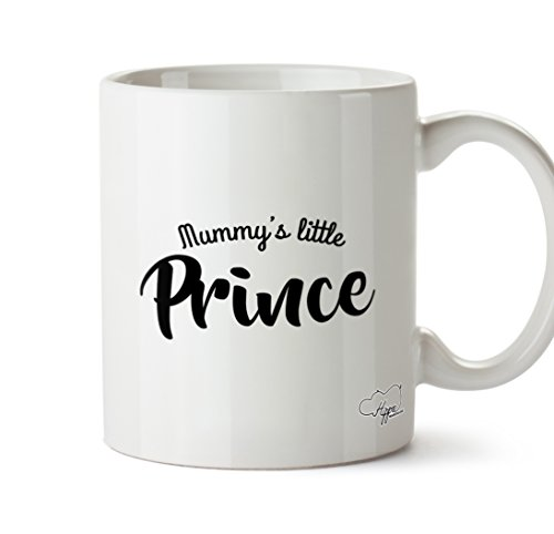 hippowarehouse-mummys-little-prince-2835-gram-mug-cup-ceramique-blanc-one-size-10oz