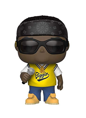 Funko 31554 Rocks: Notorious B.I.G. Jersey POP Vinylfigur, Multi