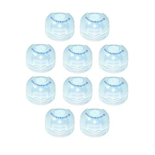 Preisvergleich Produktbild 10er Set Klappdeckel für Tritanflaschen von Acala