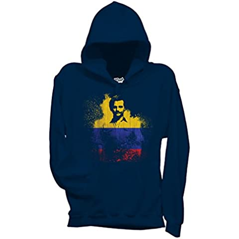 Felpa NARCOS COLOMBIA FLAG - FILM by Mush Dress Your Style