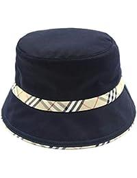 MZ Berretto da Pescatore Uomo e Donna Protezione Solare Cappello Piatto  Visiera Berretto da Viaggio per 7b1a1423cf4c