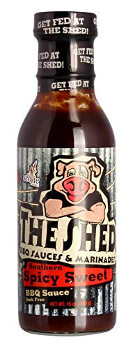 The Shed Bbq Southern Spicy Sweet, 350ml - Sauce Sweet Bbq Southern
