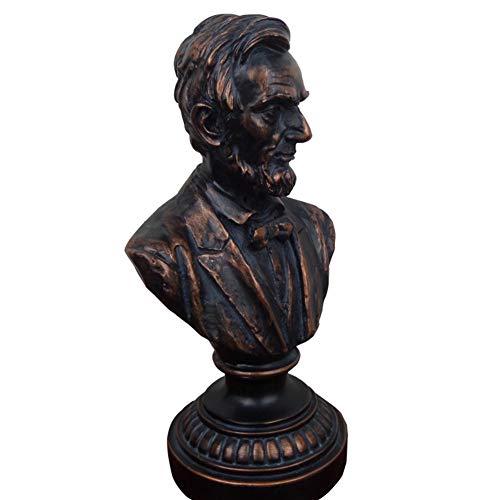 Zyh-hyz Lincoln Estatua Busto, Presidente de Estados Unidos ...