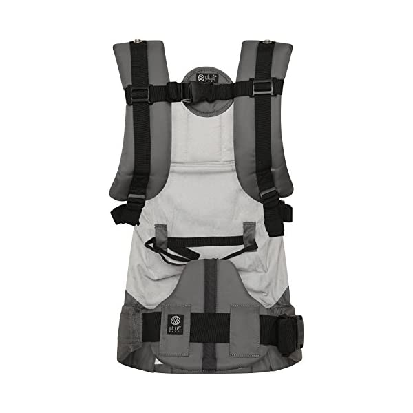 LÍLLÉbaby  Complete Embossed 6-in-1 Baby Carrier, Mystique Grey Lillebaby 6 carrying positions - foetal, infant inward, outward, toddler inward, hip, back Suitable from 3.2- 20kg (birth to approx. 4 years old Luxurious, breathable microfiber 5