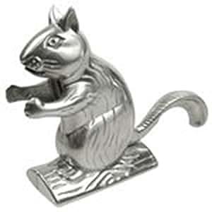 Eddingtons casse noix en forme d'écureuil argenté