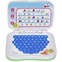 LEOPINE Angry Birds Study Mini Game Laptop for Kids - White Multicolor