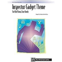 Inspector Gadget Theme: Sheet (Alfred Duet)