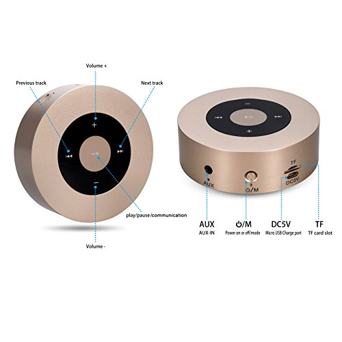 Bluetooth-Speakers-Elinker-Wireless-Stereo-Mini-Portable-Travel-Outdoor-Speaker-Touch-Screen-Music-Player-with-Hands-free-Speakerphone-Built-in-Micro-SD-TF-card-slot-with-35mm-Jack-for-MP3-PlayersSmar