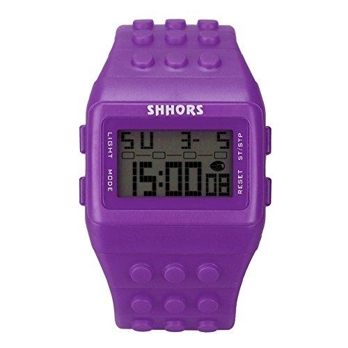NEEKY Herren Armbanduhr,Sportuhren,Smartwatch,Für Unisex Fitness Uhren - SchrittzäHler Ohne App Und Handy,Colorful Digital Wrist Watch