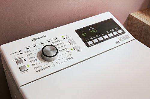 Bauknecht WAT Prime 652 Z Waschmaschine TL / A+++ / 122 kWh/Jahr / 1200 UpM / 6 kg / Extrem leise mit 48 db /ZEN Direktantrieb / weiß - 4