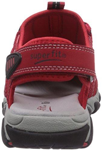 Superfit  OCTOPUSS, Sandales pour Rouge - Rot (FIRE 70)