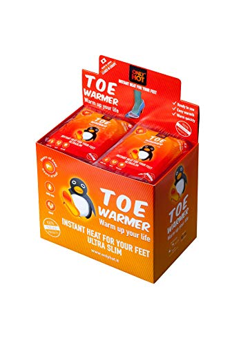 Toe warmer display box 40 pz - calore sempre a portata di mano