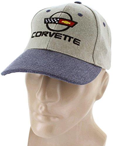 dantegts Corvette C4Baseball Cap Trucker Hat Snapback Stachelrochen Flaggen Racing Logo (C4 Corvette Hat)