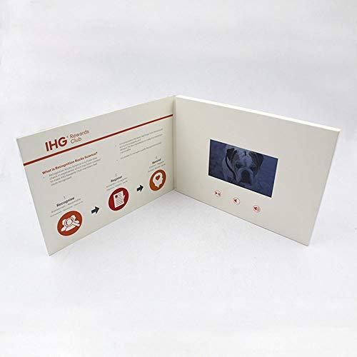 Ledu 10-Zoll-Video-E-Card, handgefertigte Videokarte, Corporate-E-Card, Geburtstagswünsche, Danke Eltern (Für Danke Sympathie-karten Die)