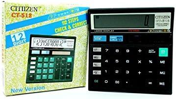 Citizen Ct 512 Combo Of 2 Calculators
