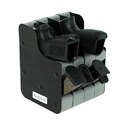 Benchmaster Four Gun Cncld Crry Vertical Pstl Rack