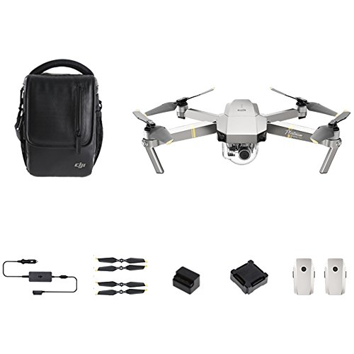 Dji By Devicekart Foldable Rc Quadcopter Fly More Combo 4K Drone With Three Batteries