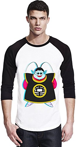 Happy King Kai Unisexe Baseball Shirt Small