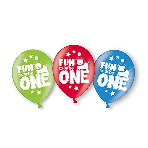 PARTY DISCOUNT Neu Luftballon Wild Baby Boy, 6 Stk., Ø 27,5 ()