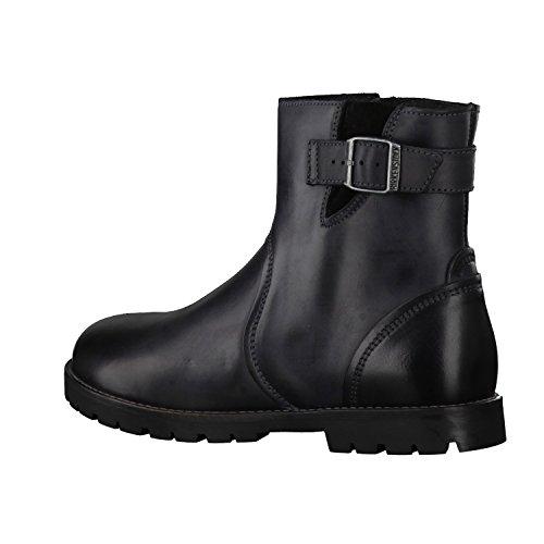 Birkenstock Damen Stowe Biker Boots Black