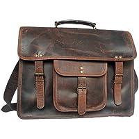 RusticTown - Hunter in pelle Laptop Bag 15