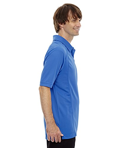 Ash City Herren Poloshirt LT NAUT BLU 417