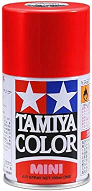 Tamiya Lacquer Spray Paint 3 oz,TAM85018, Metallic Red, TS-18
