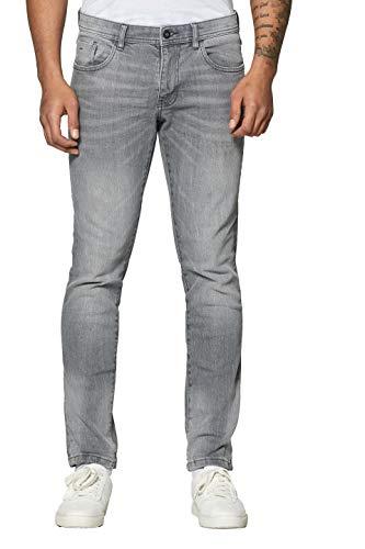 edc by ESPRIT Herren 029Cc2B005 Slim Jeans, Grau (Grey Medium Wash 922), W36/L32 (Herstellergröße: 36/32)