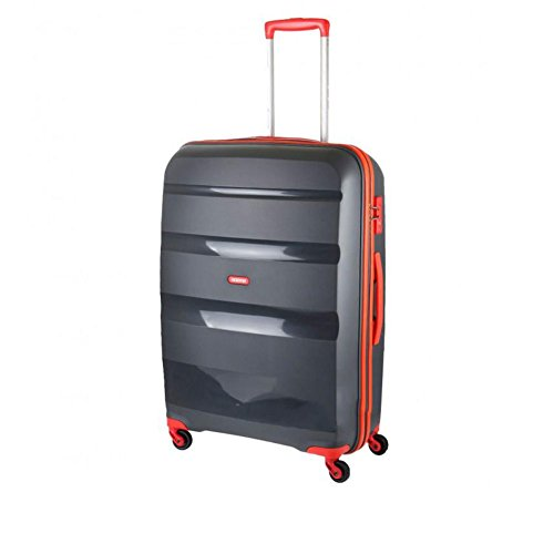 Trolley Grande 75 Cm Spinner 4 Ruote | American Tourister Bon Air | 85A003-Grey/Orange