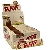 Raw Organic - Cartine King Size slim in canapa (50 x 32 pz)