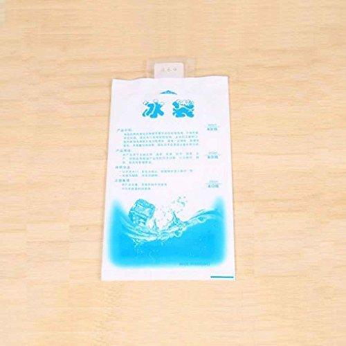 Sunlera 10pcs Wasser-Einspritzung Eis-Gel-Pack Wiederverwendbare Langlebige Gelpack - Wiederverwendbare Kalt-eis