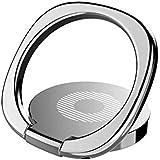 قواعد وحوامل هاتف فينتو - حامل حلقي رفيع للهاتف من باسيوس، حامل حلقة إصبع عالمي بزاوية دوران 360 درجة وحامل سطح المكتب مناسب